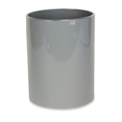 Martinez Ceramic Wastebasket in Grey