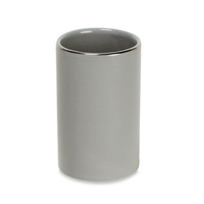 Gray Ceramic Tumbler