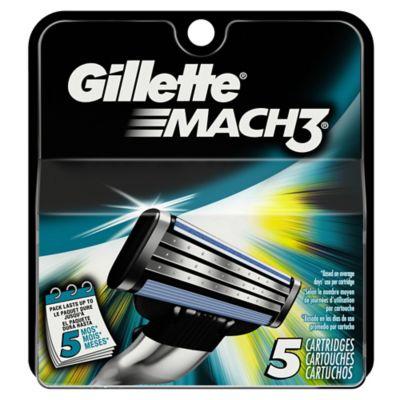 Gillette® Mach3® 5-Count Razor Blades