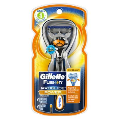 Gillette® Fusion® ProGlide® Power Razor with Flexball™ Technology and 1 Blade Refill