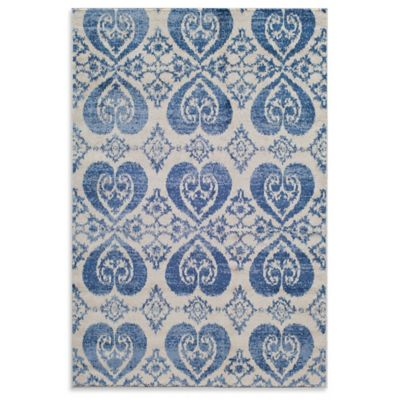 Rugs America Taza Mirror 7-Foot 10-Inch x 10-Foot 10-Inch Area Rug in Blue