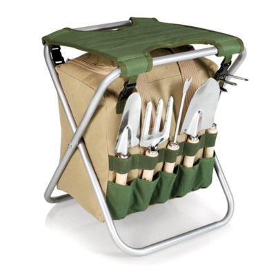 PicnicTime®Gardener Chair and Tools Set