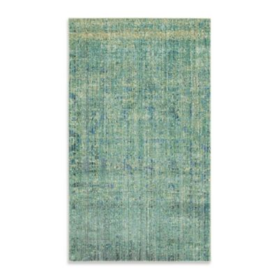 Safavieh Mystique 3-Foot x 5-Foot Area Rug in Green/Multi