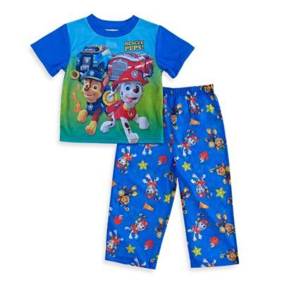 Boys' Sleepwear > Nickelodeon™ PAW Patrol Size 2T 2-Piece Short-Sleeve Pajama Set in Blue