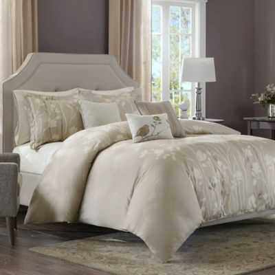 Regency Heights Vaughn King Duvet Cover Set in Ivory