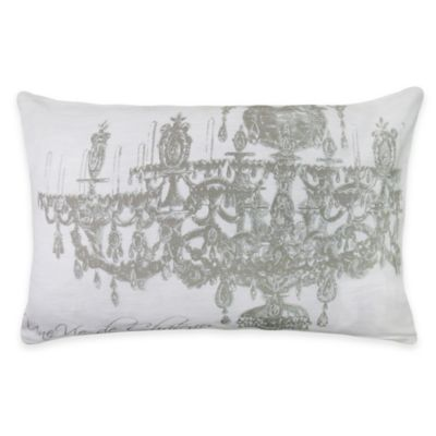 The Vintage House by Park B. Smith Chandelier Oblong Throw Pillow