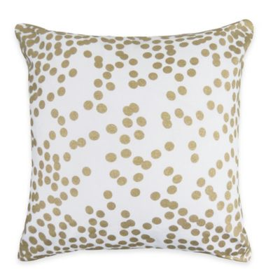 Confetti Square Throw Pillow