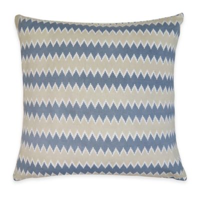 Zig Zag Square Throw Pillow Decorative Pillows