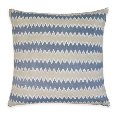Zig Zag Square Throw Pillow Decorative Pillows