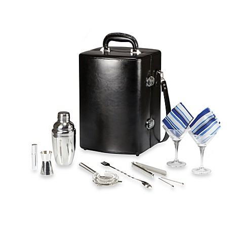 Legacy Manhattan Black Cocktail Case
