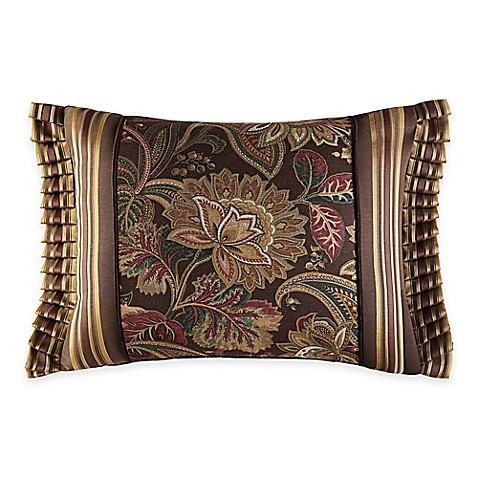 J Queen New York Coventry Boudoir Throw Pillow In Brown