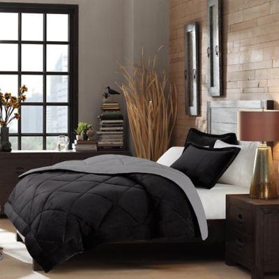 Tan Brown Reversible Comforter