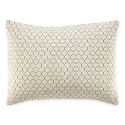 Wedgwood® Pashmina Quilted Breakfast Throw Pillow in Ivory