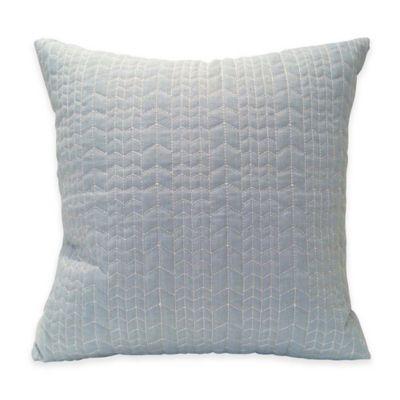 Kas Australia Elsbury Rumba Throw Pillow in Seafoam