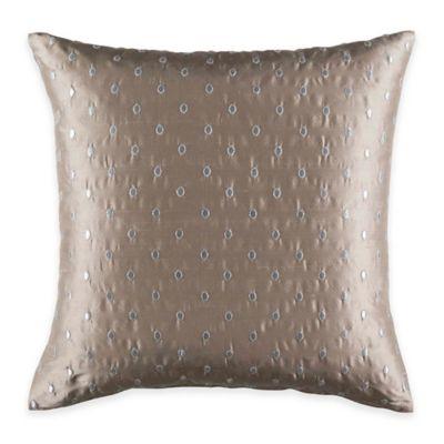 Kas Australia Elsbury Jasper Throw Pillow in Taupe