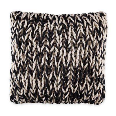 Black/Tan Throw Pillows