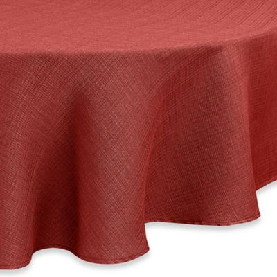 Noritake® Colorwave 70-Inch Round Tablecloth in Raspberry