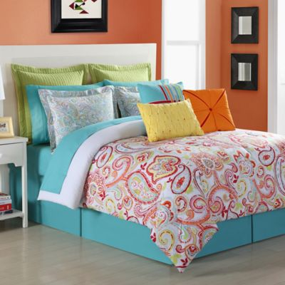 Fiesta® Torrance Reversible King Comforter Set