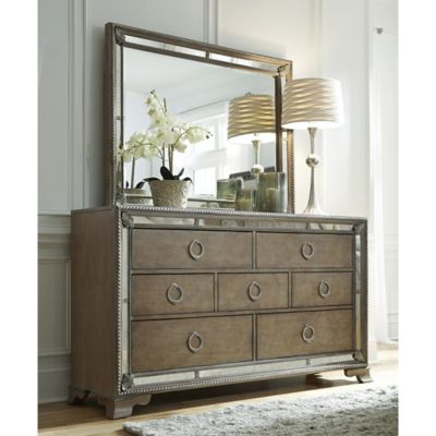 Pulaski Karissa Dresser in Light Brown