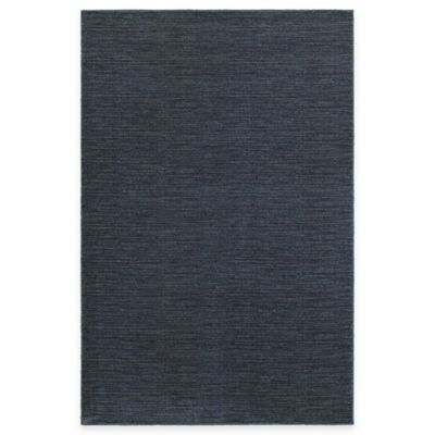 Oriental Weavers Richmond Heathered 3-Foot 10-Inch x 5-Foot 5-Inch Area Rug in Navy