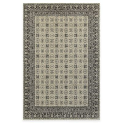 Oriental Weavers Richmond Border 3-Foot 10-Inch x 5-Foot 5-Inch Area Rug in Ivory