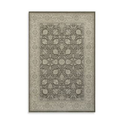 Oriental Weavers Richmond Traditional Medallion 9-Foot 10-Inch x 12-Foot 10-Inch Area Rug in Brown