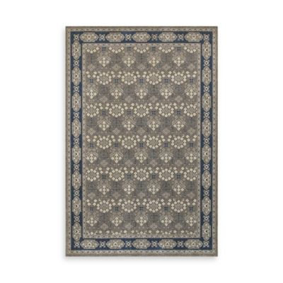 Oriental Weavers Richmond Vines 3-Foot 10-Inch x 5-Foot 5-Inch Area Rug in Grey
