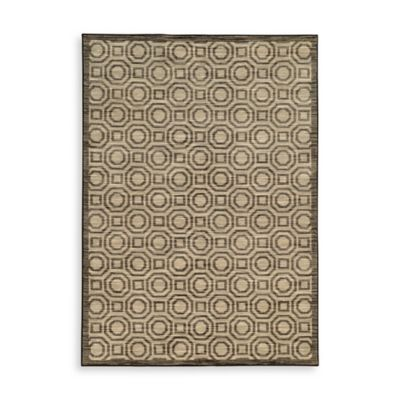 Oriental Weavers Harper Circles 5-Foot 3-Inch x 7-Foot 6-Inch Area Rug in Charcoal