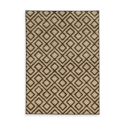 Oriental Weavers Harper Diamonds 7-Foot 10-Inch x 10-Foot 10-Inch Area Rug in Beige