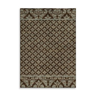 Oriental Weavers Harper Damask 7-Foot 10-Inch x 10-Foot 10-Inch Area Rug in Brown