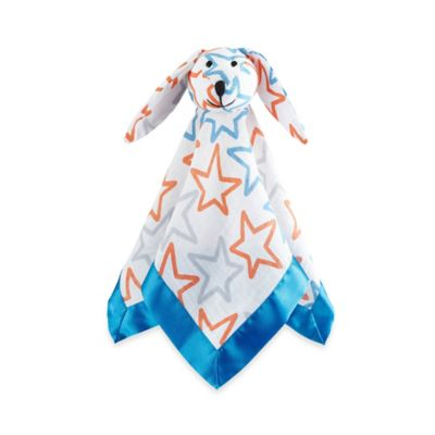 aden® by aden + anais® Small Fry Muslin Lovey in Blue/Orange