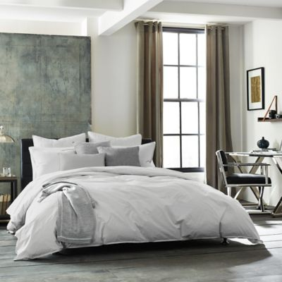 Kenneth Cole Escape Full/Queen Duvet Cover in Grey