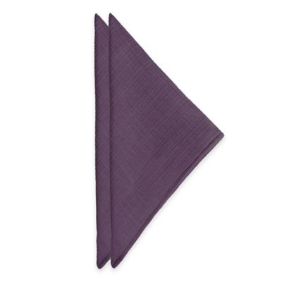 Noritake® Colorwave Napkins in Plum (Set of 2)