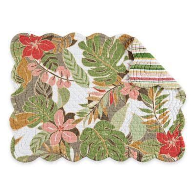 St. Croix Reversible Quilted Placemat