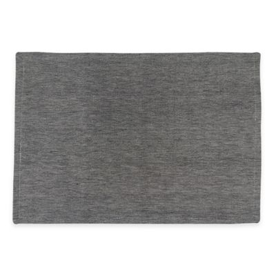 Park B. Smith Chambray Placemat in Black