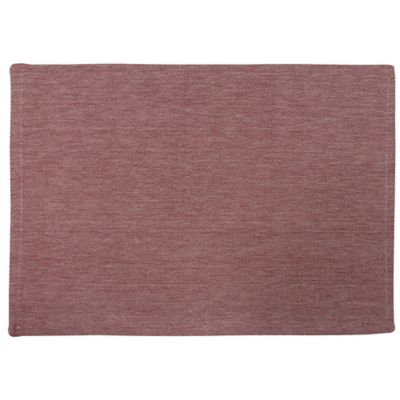 Park B. Smith Chambray Placemat in Red