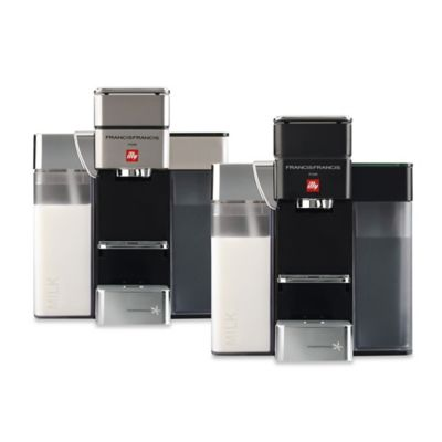 illy® Francis Francis Y5 Milk iper Espresso Machine in Satin