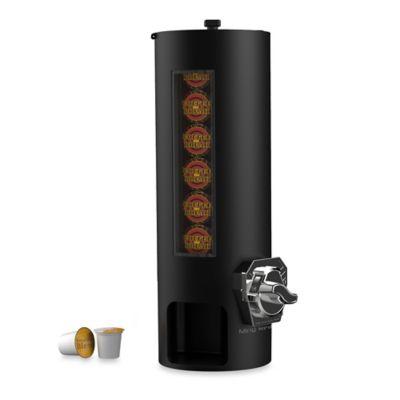 Mind Reader Coin Operated K-Cup Single-Serving Pod Dispenser in Black