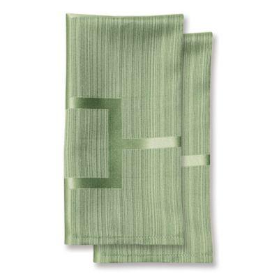 Green Microfiber Napkin