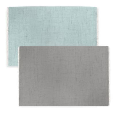 Lenox® French Perle Solid Placemat in Dove Grey