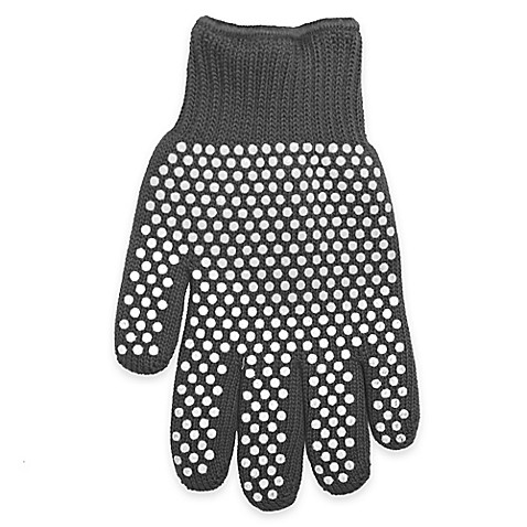 Super Glove™ with Silicone Dots in Charcoal