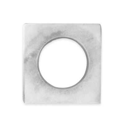 Kenneth Cole Reaction Home Marble Napkin Ring in Light Gray
