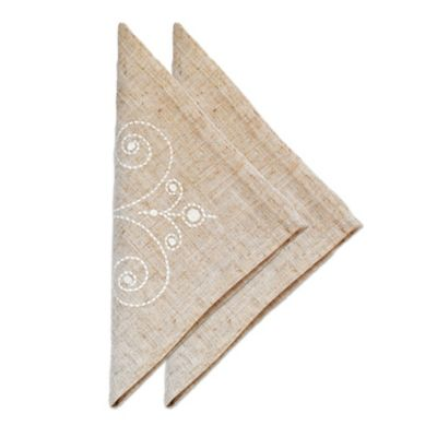 Lenox® French Perle Napkins in Linen (Set of 2)