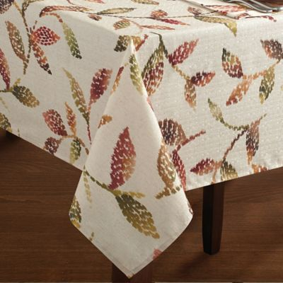 Croscill® Falling Leaves 52-Inch x 70-Inch Tablecloth