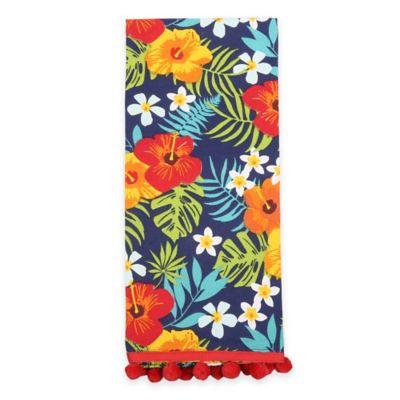 Tropical Cotton Kitchen Towels