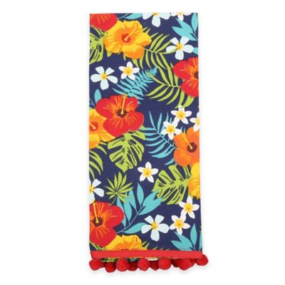 Sam Hedaya Tropical Paradise Tea Towel