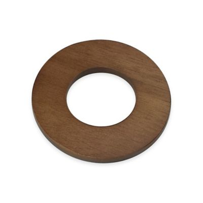 Acacia Natural Wood Napkin Ring