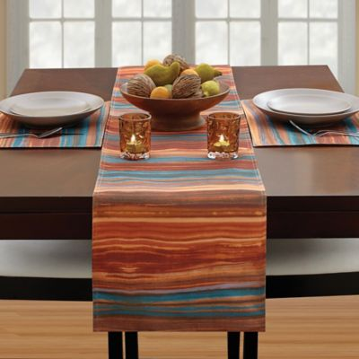 Croscill® Ventura 54-Inch Table Runner in Spice