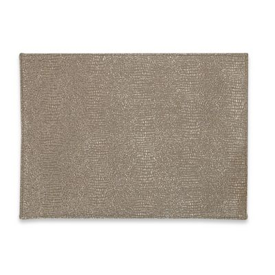 Rango Placemat in Champagne