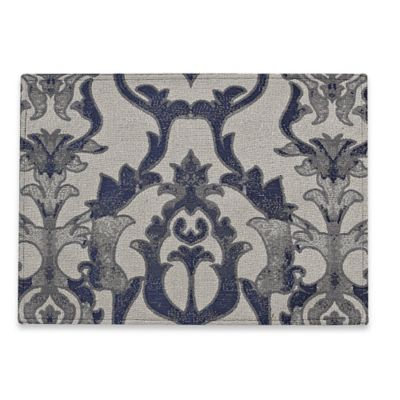 Sculptural Placemat in Blue